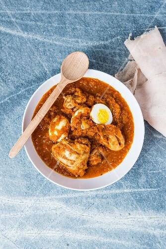 Doro Wot (chicken stew from Ethiopia)