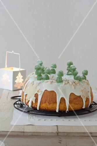 Corona di Natale (Italian Christmas cake)