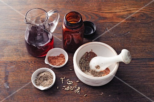 Fennel mix powder à la Hildegard von Bingen
