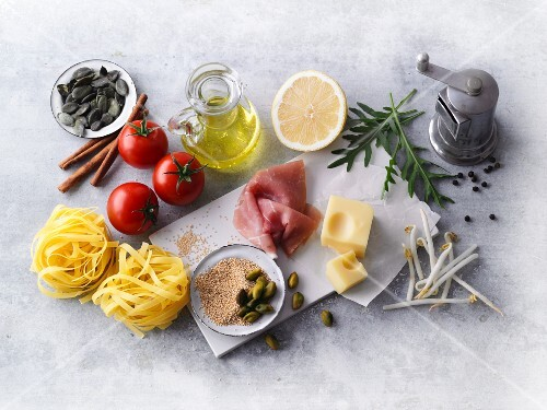 A selection of ingredients