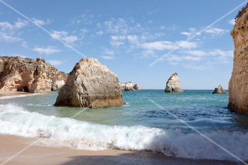 Portugal, Algarve, Prainha bei Alvor