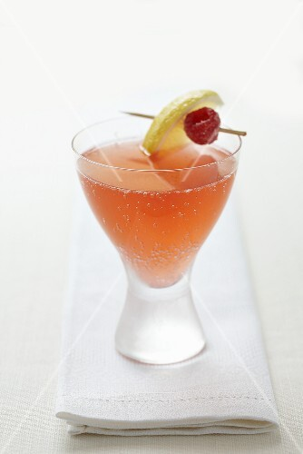 A fruit cocktail