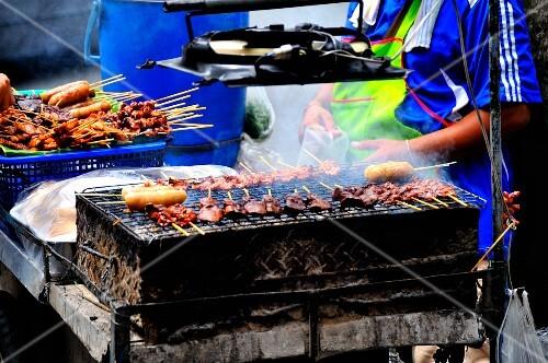 A cookshop in Thailand