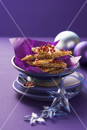 Sesame seed and pepper brittle