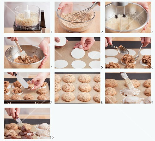 Gingerbread being made
