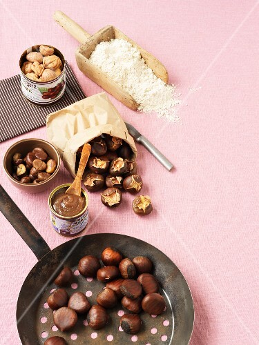 Chestnuts and chestnut products