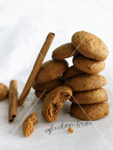 Gluten-Free Snickerdoodles; Cinnamon Stick