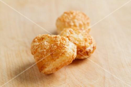 Blätterteig-Käse-Gebäck