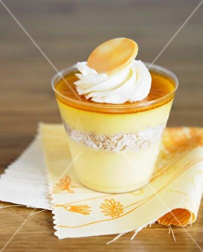 Mango Parfait Dessert