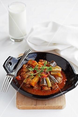 Türlu (vegetable stew, Turkey)