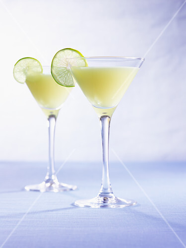 Sauza by the sea (drink with tequila, lime juice & pineapple juice)