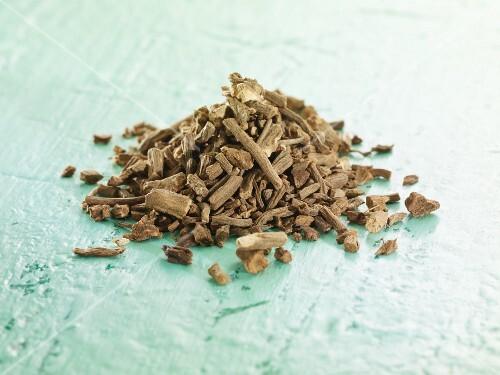 Dried valeriana