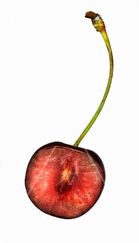 Half a cherry