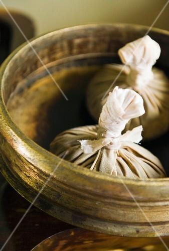 Bundles for Ayurveda herbal massage