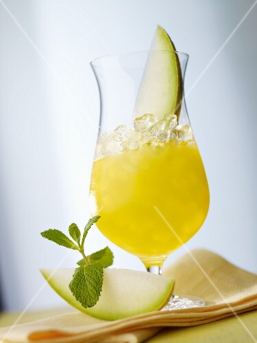 'Melon Stick' (melon drink)