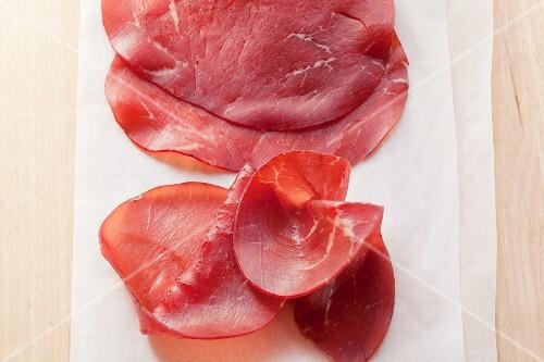 Bresaola (Italian dry-cured beef)
