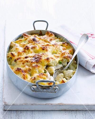 Macaroni & Cheese mit Hähnchen