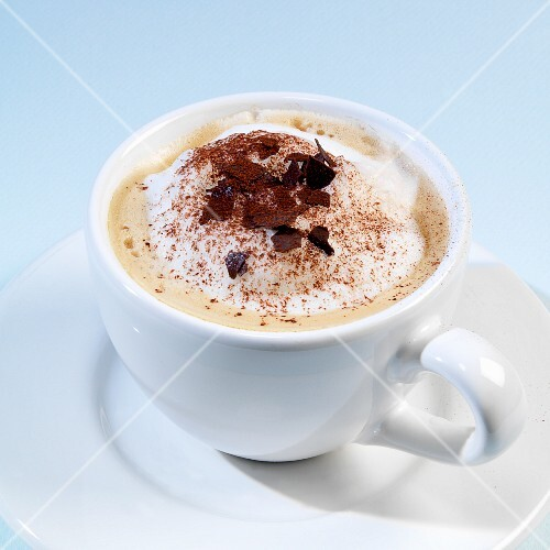 Hot chocolate with milk foam