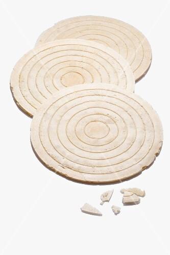 Three wafers