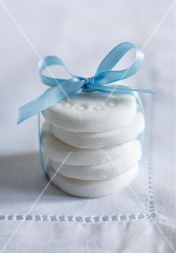Homemade peppermint creams as a gift