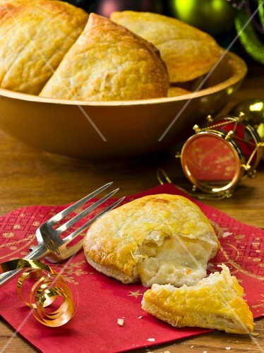 Mini cheese and onion pies for Christmas