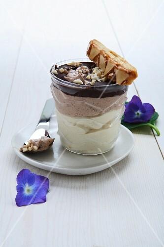 Semifreddo caffè e cioccolato (coffee and chocolate semifreddo)