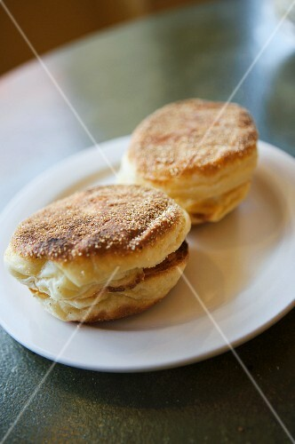Two English Muffins from The Model Bakery in Napa Valley