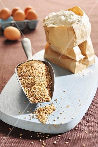 Wheat and wheat flour