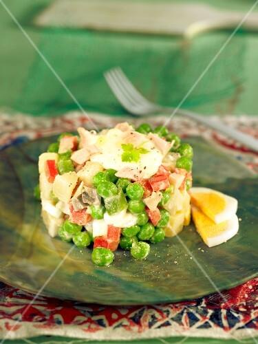 Ensaladilla rusa (Spanish summer salad)