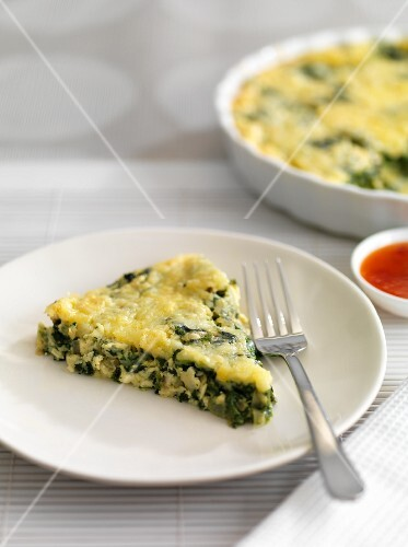 Vegetables quiche with cheese