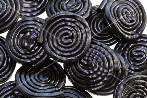 Liquorice whirls