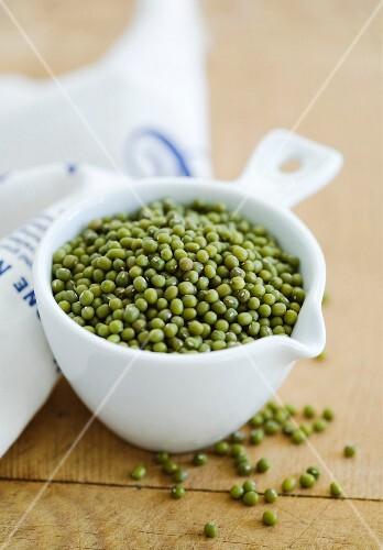 A bowl of mungo beans