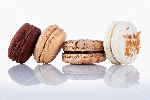 Four different macaroons
