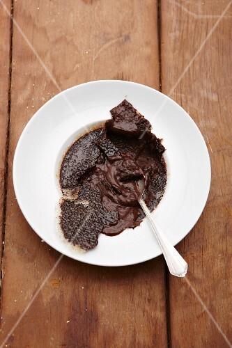 Caramelised chocolate cream