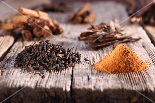 Cinnamon and mixed spices
