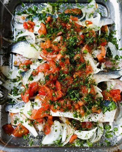 Tomato herrings
