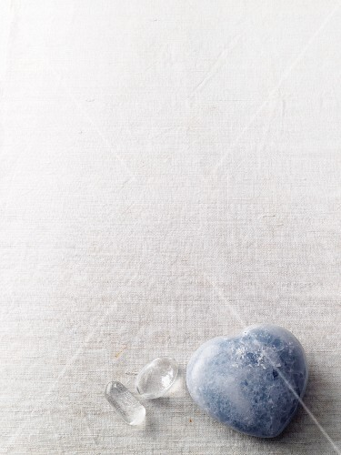 Clear quartz and chalcedony