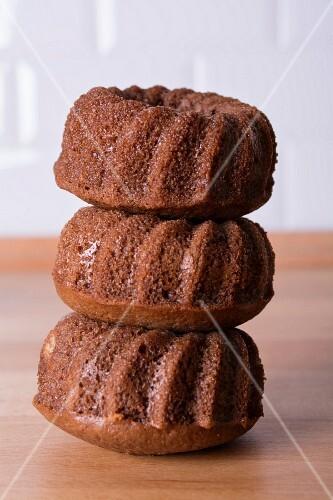 Ciambelline (Italian chocolate cakes)