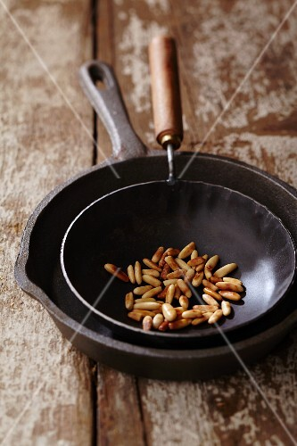 Roasted pine nuts