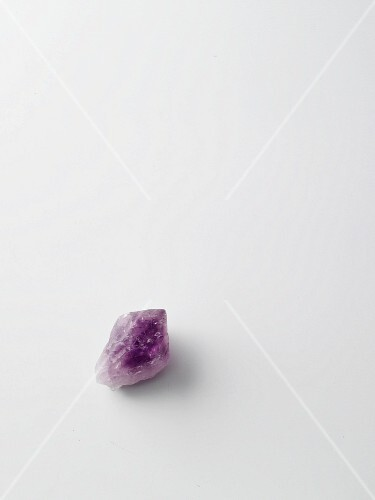 An amethyst healing stone