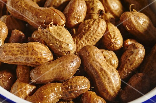 Boiled peanuts (American snack)