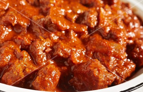 South-western chilli con carne with beef (USA)