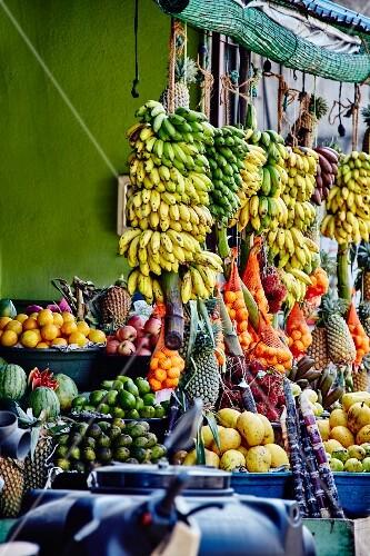 A fruit shop in Sri Lanka