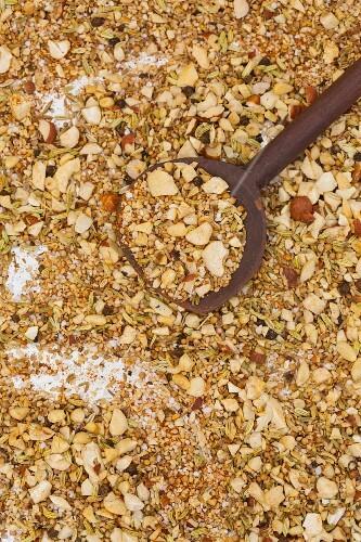 Dukkah (oriental nut spice mixture)
