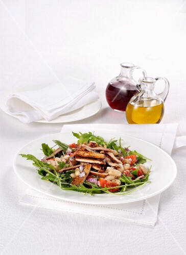 Mixed veal salad