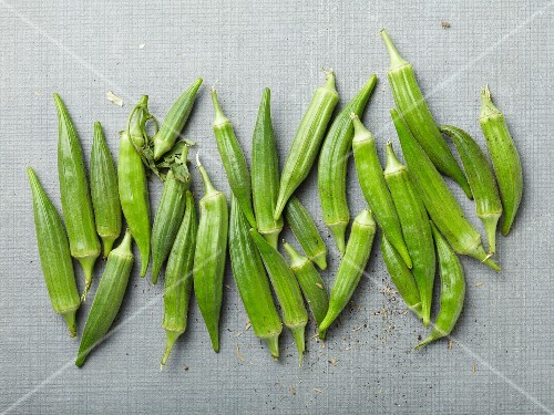Okra (seen from above)