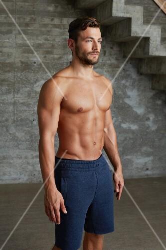 Correct posture before training