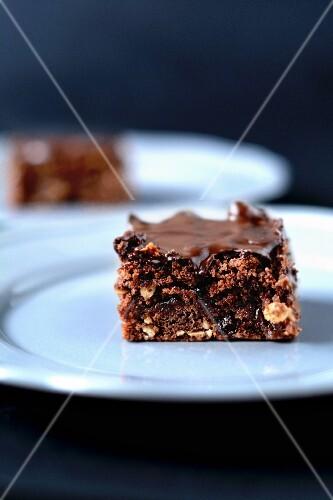 Chocolate muesli cake