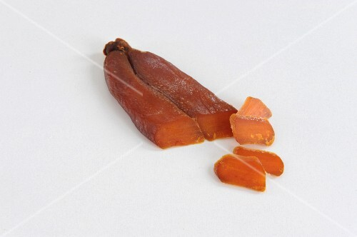 Bottarga, sliced