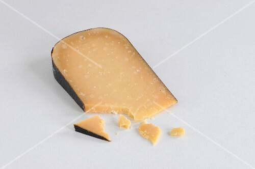 A slice of aged Gouda